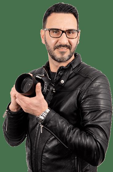 Enzo Cefalù Fotografo a Bagheria – Matrimonio, Foto di Persone, Foto Commerciali